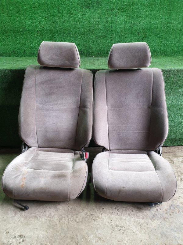 Сидения комплект Toyota Hiace KZH106W 1KZTE 1995 (б/у)