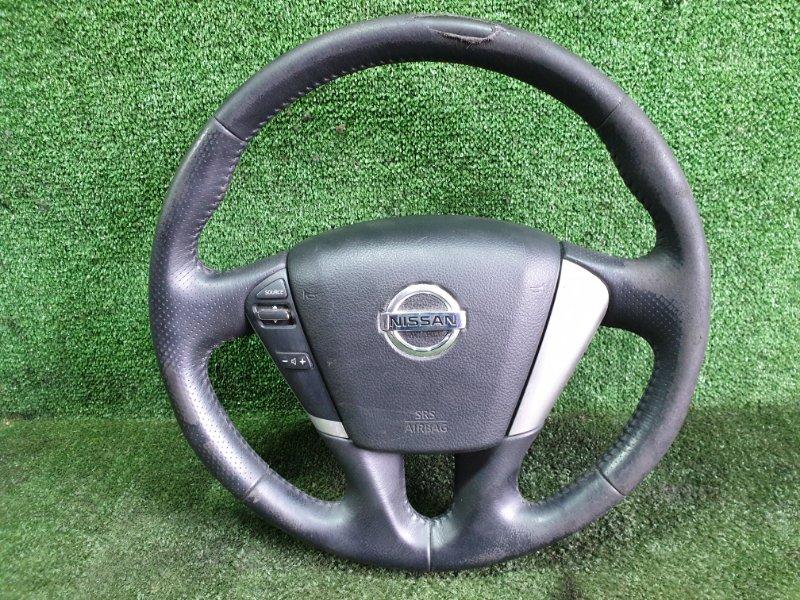 Руль с airbag Nissan Murano TNZ51 QR25DE 2011 (б/у)