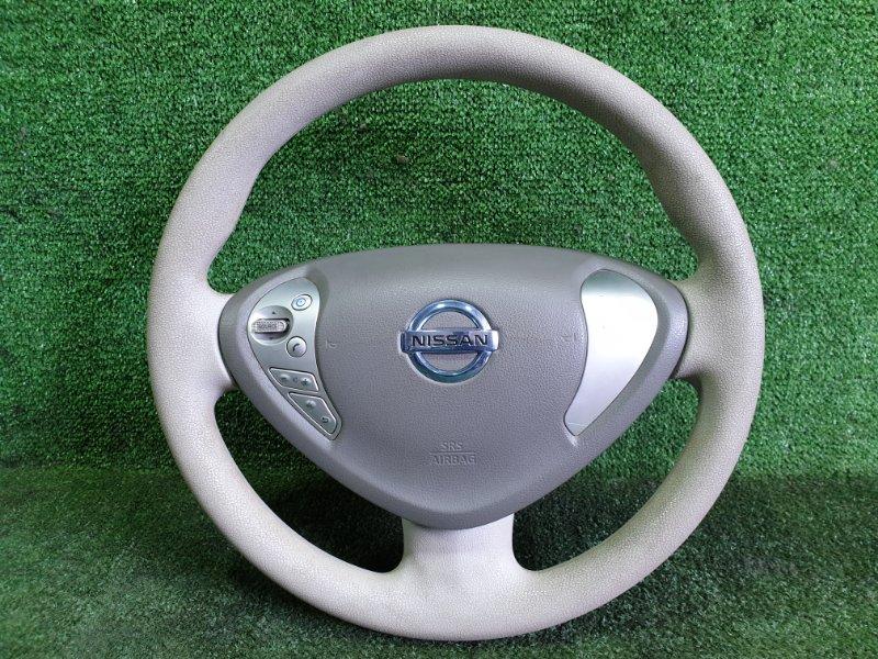 Руль с airbag Nissan Leaf ZE0 EM61 2011 (б/у)
