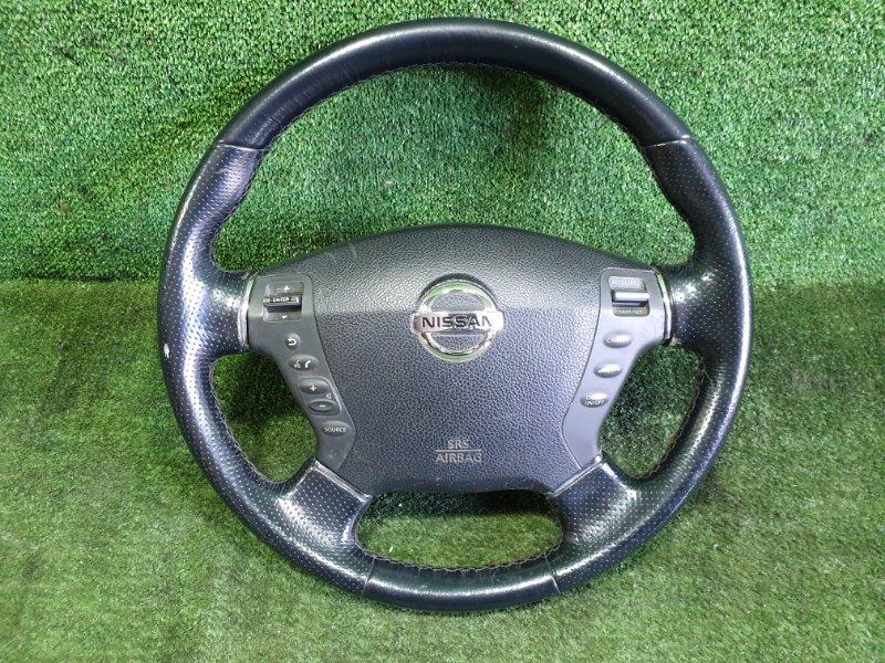 Руль с airbag Nissan Fuga PNY50 VQ35DE 2006 (б/у)