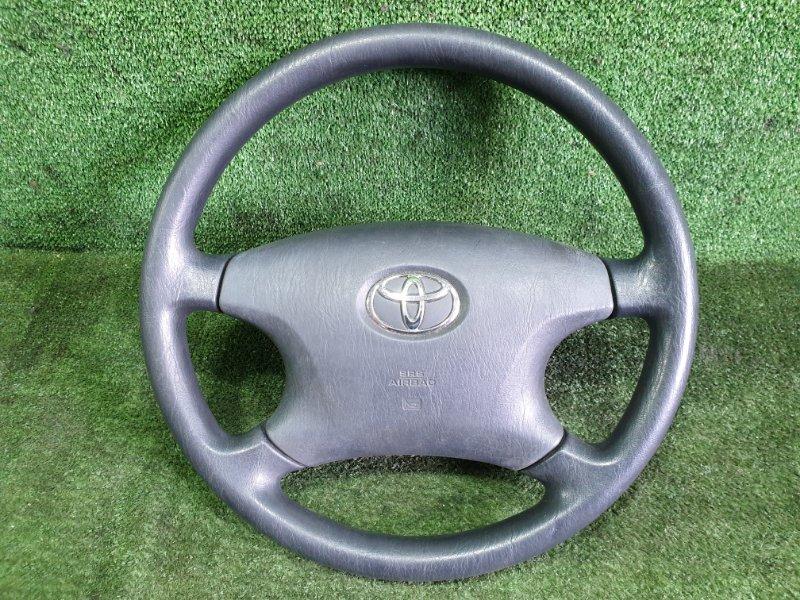 Руль с airbag Toyota Corolla Spacio ZZE124 1ZZFE 2002 (б/у)