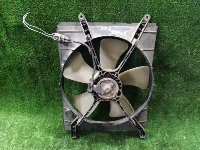Вентилятор радиатора кондиционера Toyota Gaia SXM15 3SFE 2002 левый (б/у)