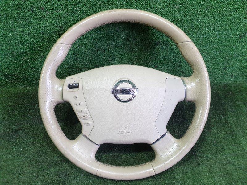 Руль с airbag Nissan Fuga PY50 VQ35HR 2008 (б/у)