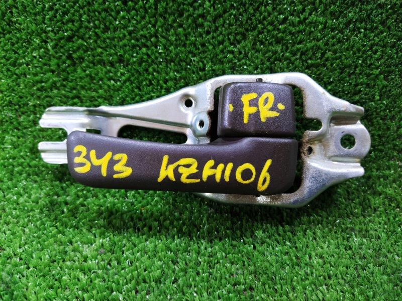 Ручка двери внутренняя Toyota Hiace KZH106W 1KZTE 1995 передняя правая (б/у)