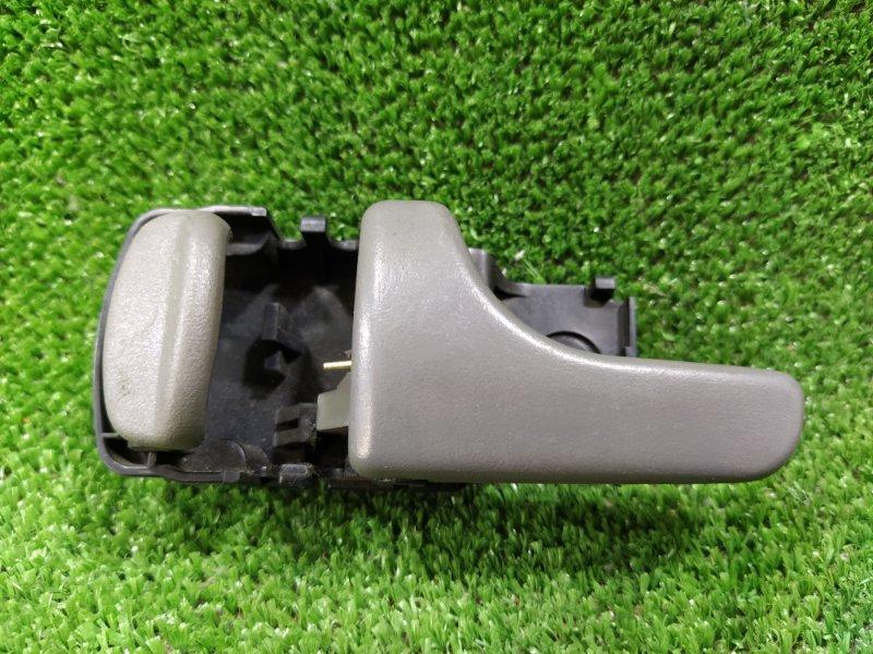 Ручка двери внутренняя Nissan Mistral R20 TD27T 1995 задняя левая (б/у)