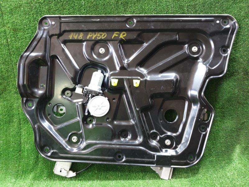 Стеклоподъемник Nissan Fuga PY50 VQ35HR 2008 передний правый (б/у)