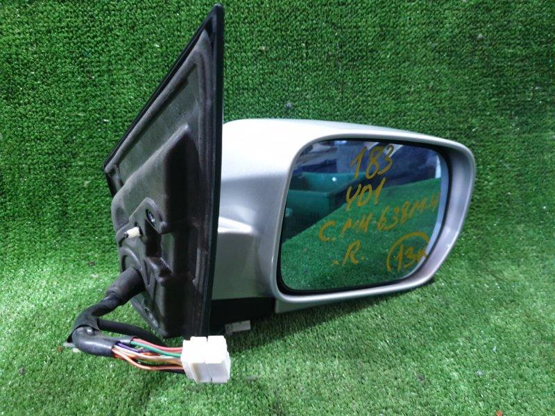 Зеркало Honda Mdx YD1 J35A 2003 переднее правое (б/у)