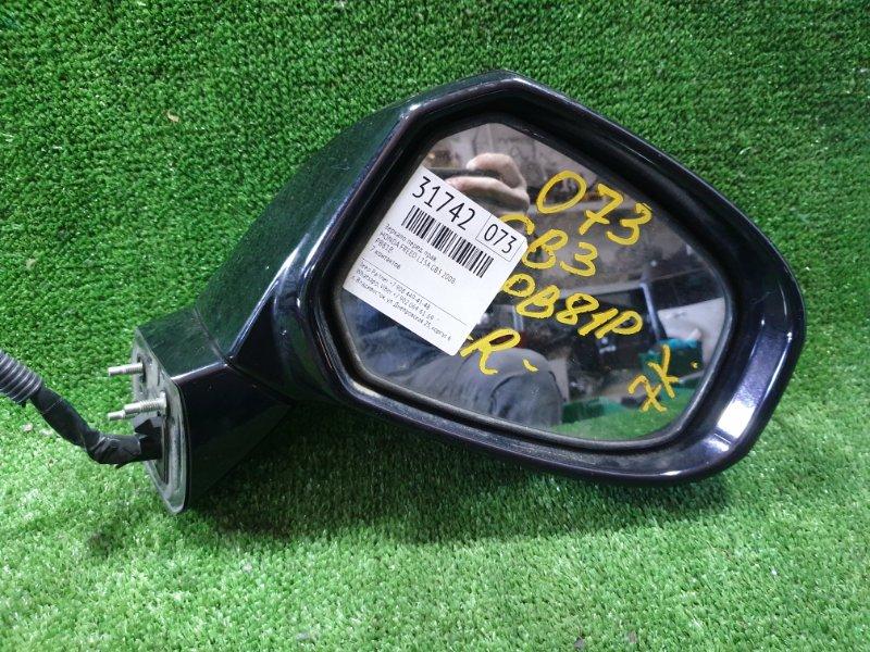Зеркало Honda Freed GB3 L15A 2008 переднее правое (б/у)
