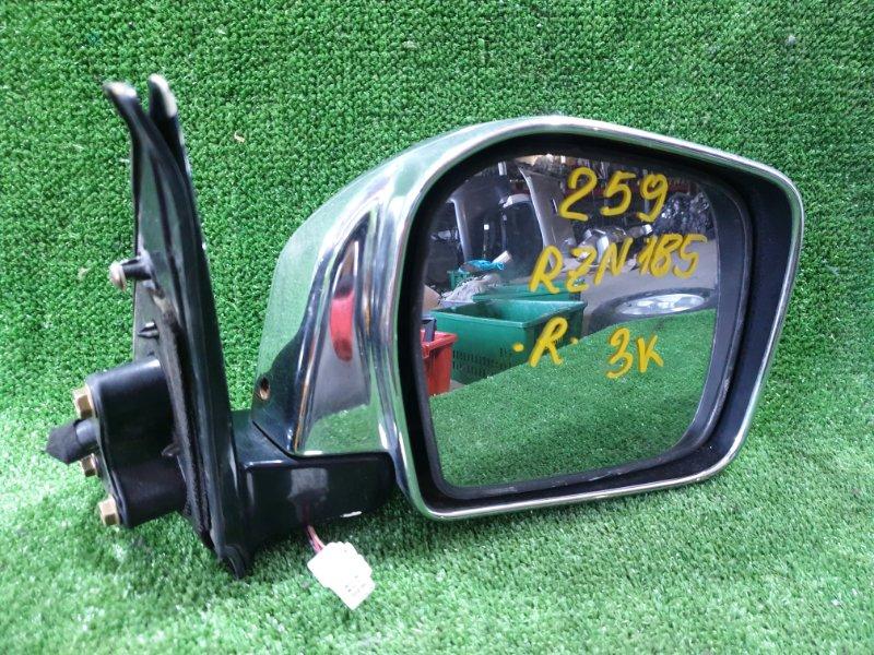 Зеркало Toyota Hilux Surf RZN185 3RZFE 2001 переднее правое (б/у)