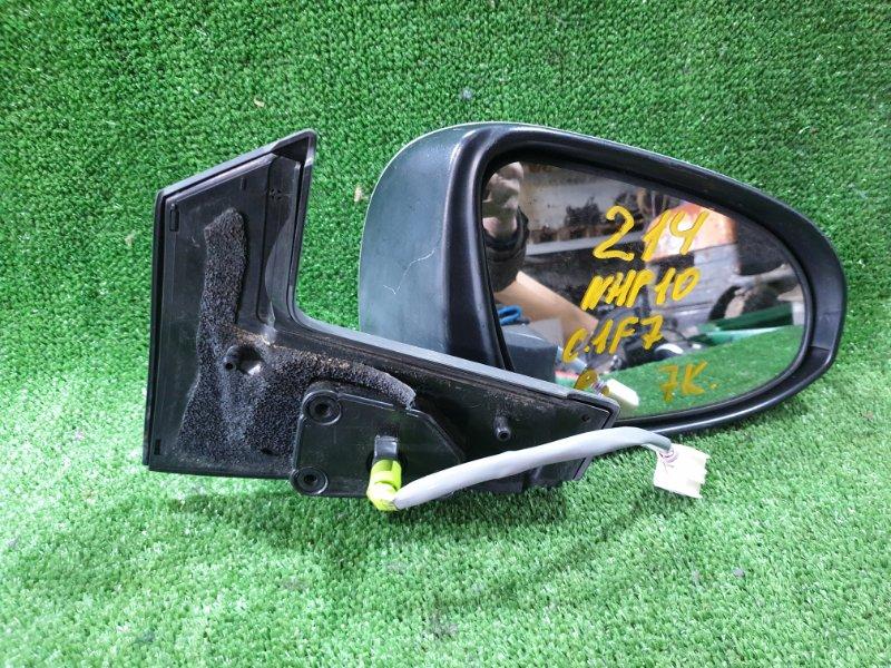 Зеркало Toyota Aqua NHP10 1NZFXE 2012 переднее правое (б/у)