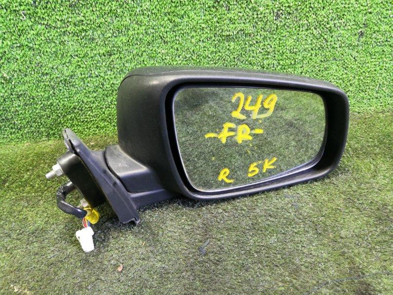 Зеркало Mitsubishi Galant Fortis CY4A 4B11 2007 переднее правое (б/у)