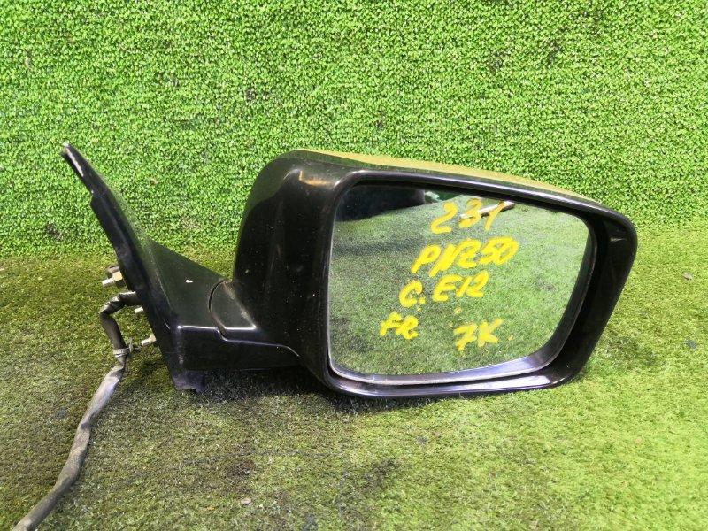 Зеркало Nissan Murano PNZ50 VQ35DE 2005 переднее правое (б/у)
