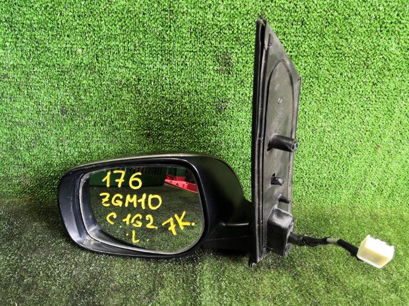 Зеркало Toyota Isis ZGM10 2ZRFAE 2009 переднее левое (б/у)