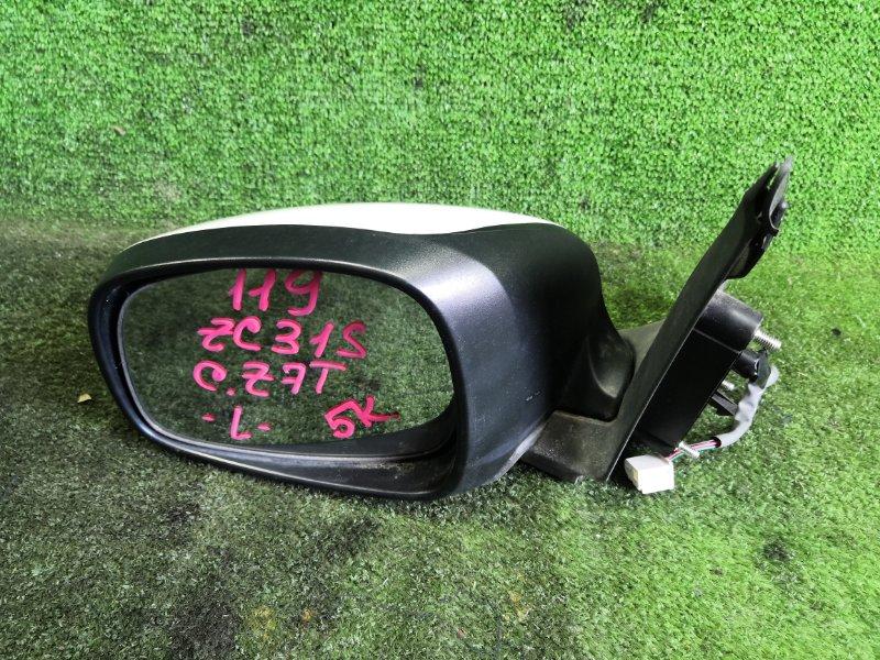 Зеркало Suzuki Swift ZC31S M16A 2005 переднее левое (б/у)