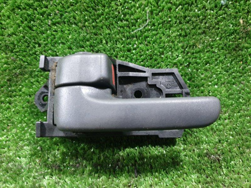 Ручка двери внутренняя Toyota Caldina ST215G 3SFE 1999 задняя левая (б/у)