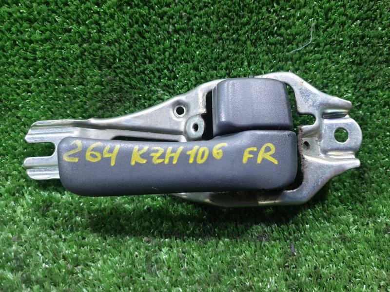 Ручка двери внутренняя Toyota Hiace KZH106G 1KZTE 1994 передняя правая (б/у)