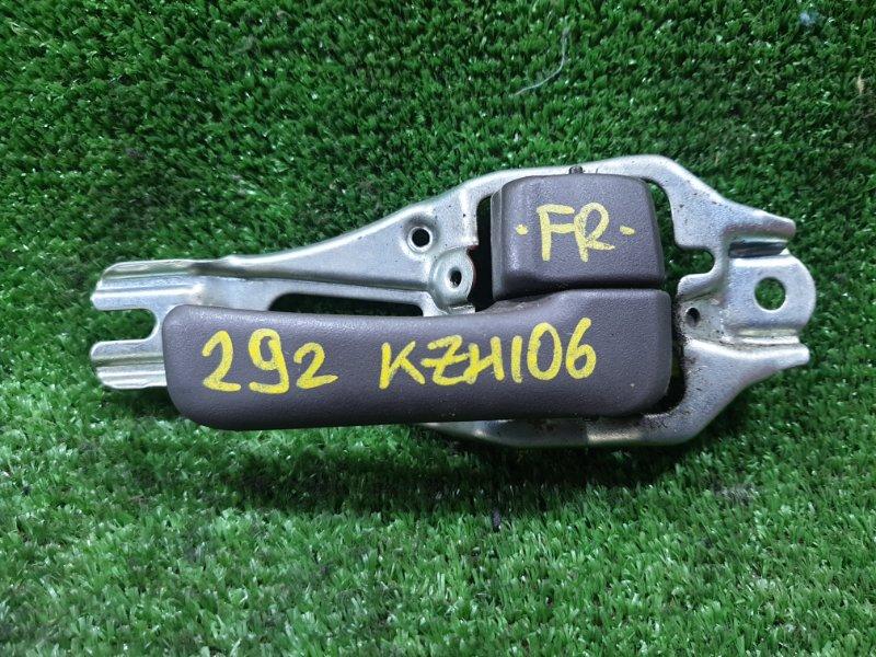 Ручка двери внутренняя Toyota Hiace KZH106W 1KZTE 1996 передняя правая (б/у)