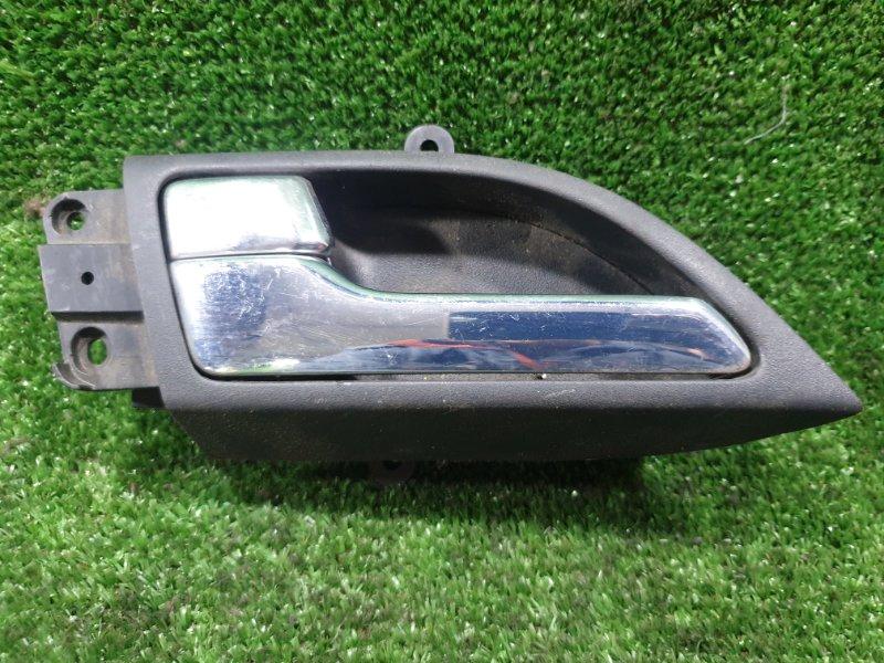 Ручка двери внутренняя Nissan Fuga Y50 VQ35DE задняя левая (б/у)