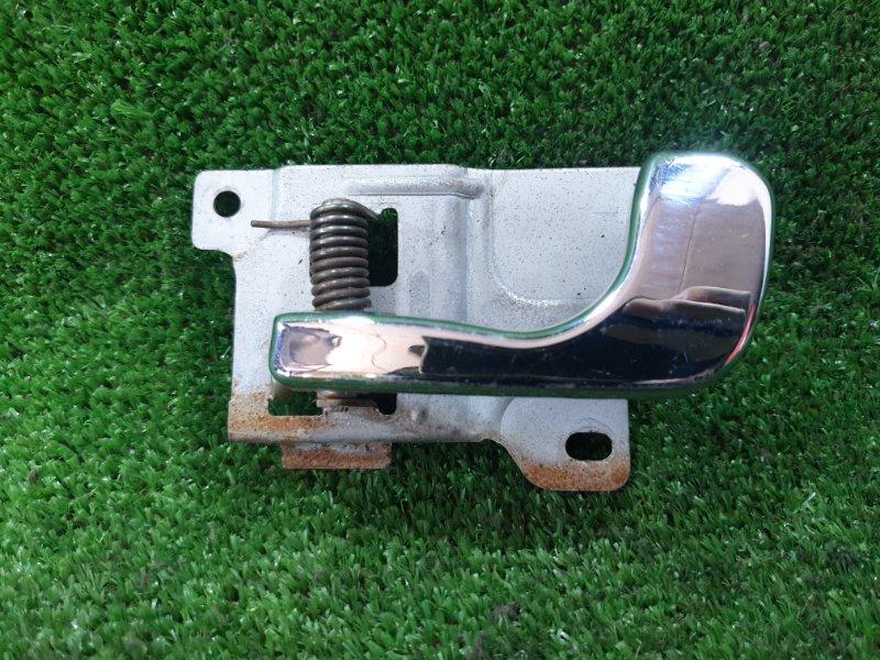 Ручка двери внутренняя Mitsubishi Pajero V21W 4G64 передняя левая (б/у)