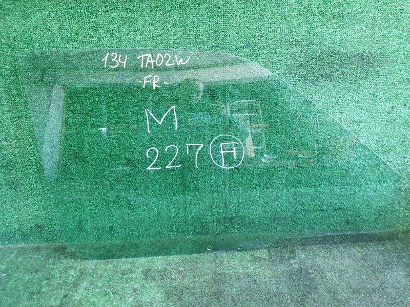 Стекло Suzuki Escudo TA02W G16A 1998 переднее правое (б/у)