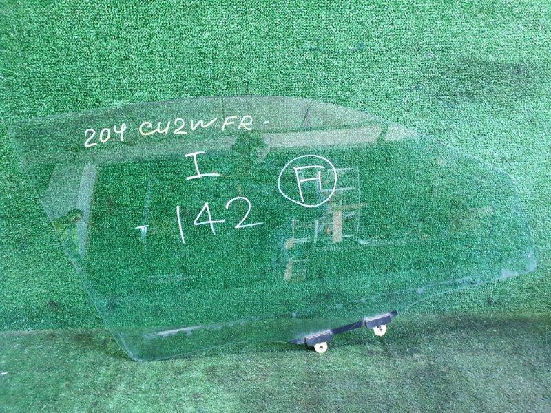 Стекло Mitsubishi Airtrek CU2W 4G63T 2003 переднее правое (б/у)