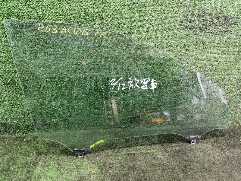 Стекло Toyota Camry ACV45 2AZFE 2006 переднее правое (б/у)