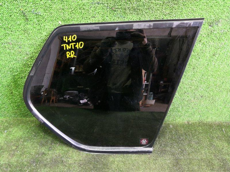Стекло собачника Nissan X-Trail TNT31 QR25DE 2008 заднее правое (б/у)