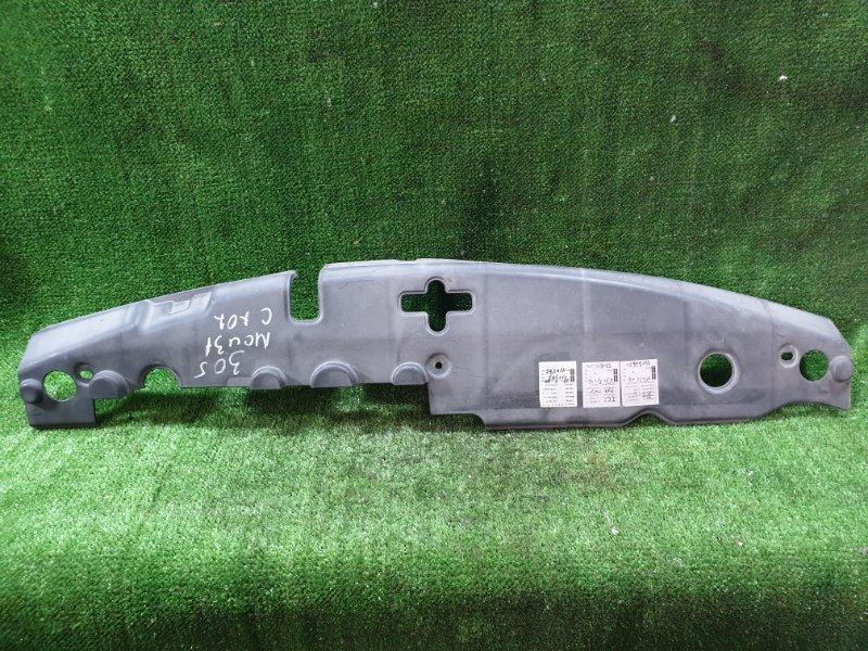 Накладка на телевизор Toyota Harrier MCU31 1MZFE 2003 (б/у)