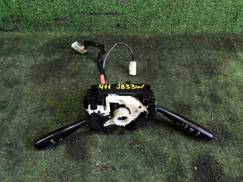 Блок подрулевых переключателей Suzuki Jimny Wide JB43W M13A 2003 (б/у)