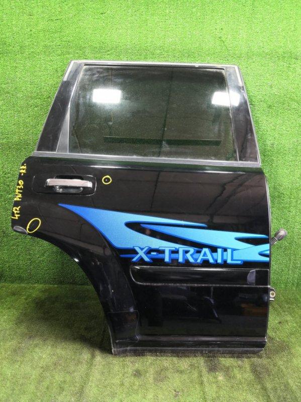 Дверь Nissan X-Trail PNT30 SR20VET 2003 задняя правая (б/у)