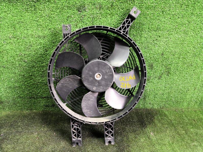 Вентилятор радиатора кондиционера Nissan X-Trail PNT30 SR20VET 2003 (б/у)