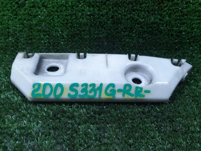 Крепление бампера Daihatsu Atrai S331G KFDET 2007 заднее правое (б/у)