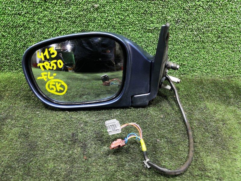 Зеркало Nissan Terrano TR50 ZD30DDTI 1999 переднее левое (б/у)