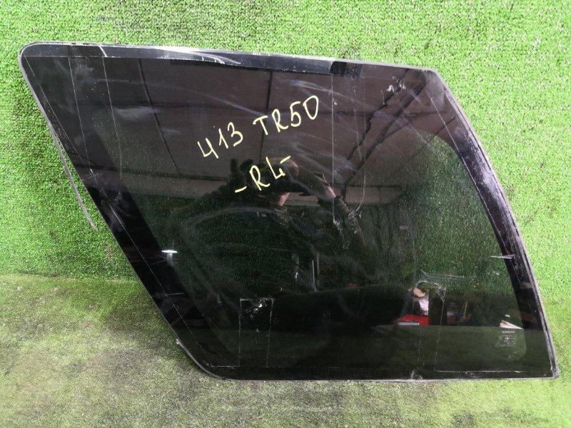 Стекло собачника Nissan Terrano TR50 ZD30DDTI 1999 заднее левое (б/у)