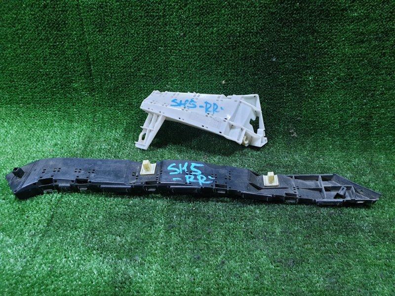 Крепление бампера Subaru Forester SH5 EJ20 заднее правое (б/у)