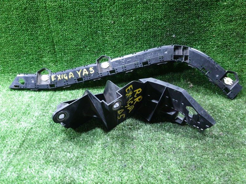 Крепление бампера Subaru Exiga YA5 EJ20 заднее правое (б/у)