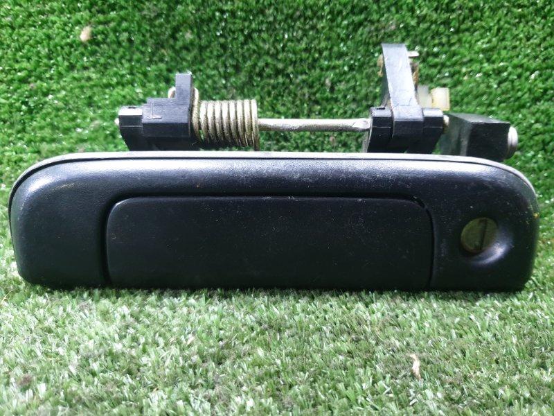 Ручка двери внешняя Toyota Hiace KZH106G 1KZTE 1994 передняя левая (б/у)