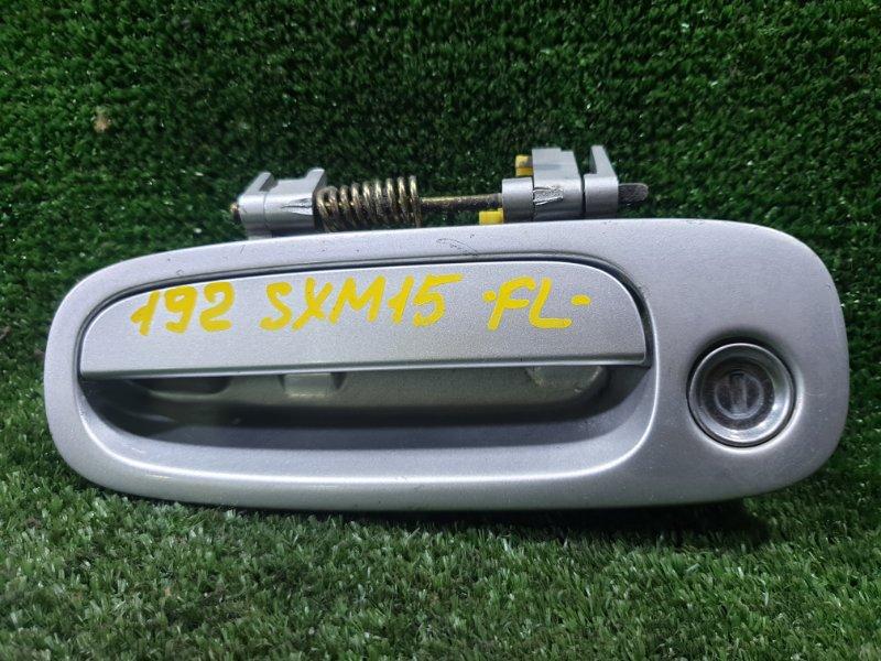 Ручка двери внешняя Toyota Ipsum SXM15 3SFE 1996 передняя левая (б/у)