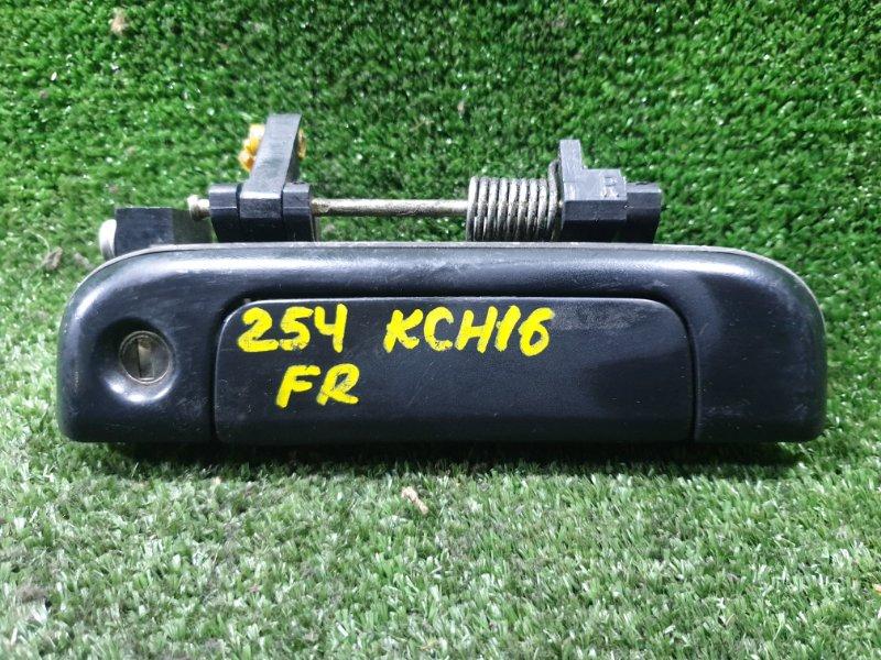 Ручка двери внешняя Toyota Granvia KCH16 1KZTE 1995 передняя правая (б/у)
