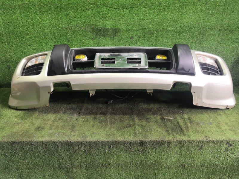 Бампер Nissan Terrano Regulus JRR50 QD32ETI 1997 передний (б/у)