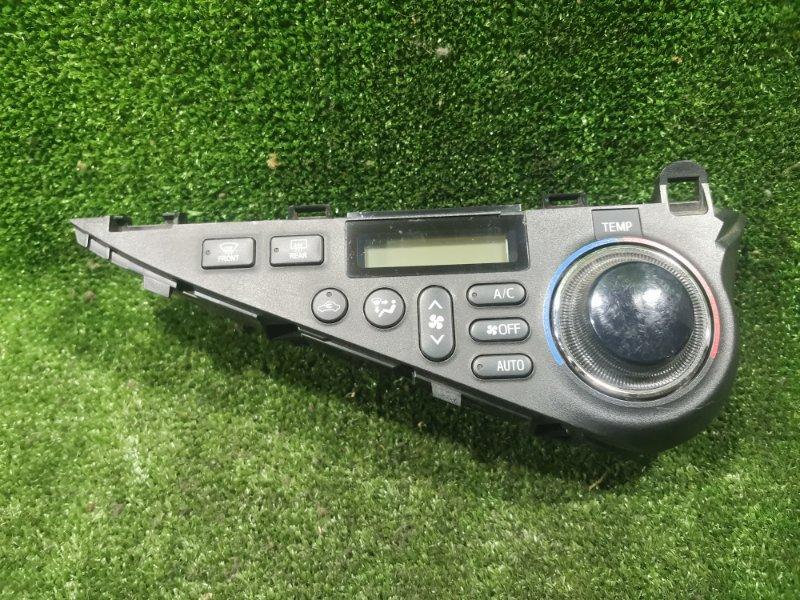 Блок управления климат-контролем Toyota Aqua NHP10 1NZFXE 2012 (б/у)