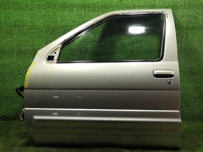 Дверь Nissan Terrano Regulus JRR50 QD32ETI 1997 передняя левая (б/у)
