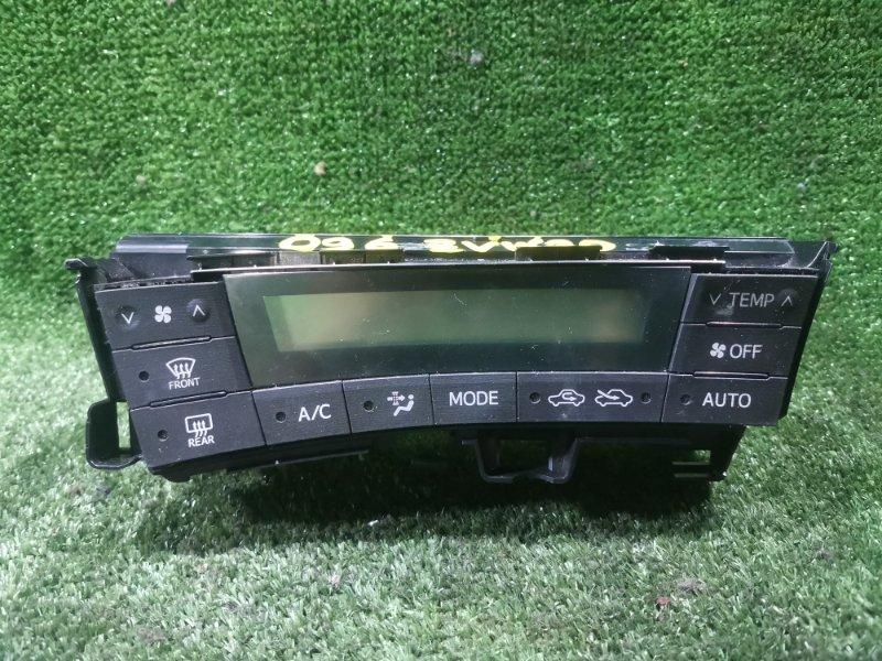 Блок управления климат-контролем Toyota Prius ZVW30 2ZRFXE 2010 (б/у)