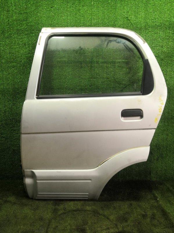 Дверь Toyota Cami J100E HCEJ 1999 задняя левая (б/у)