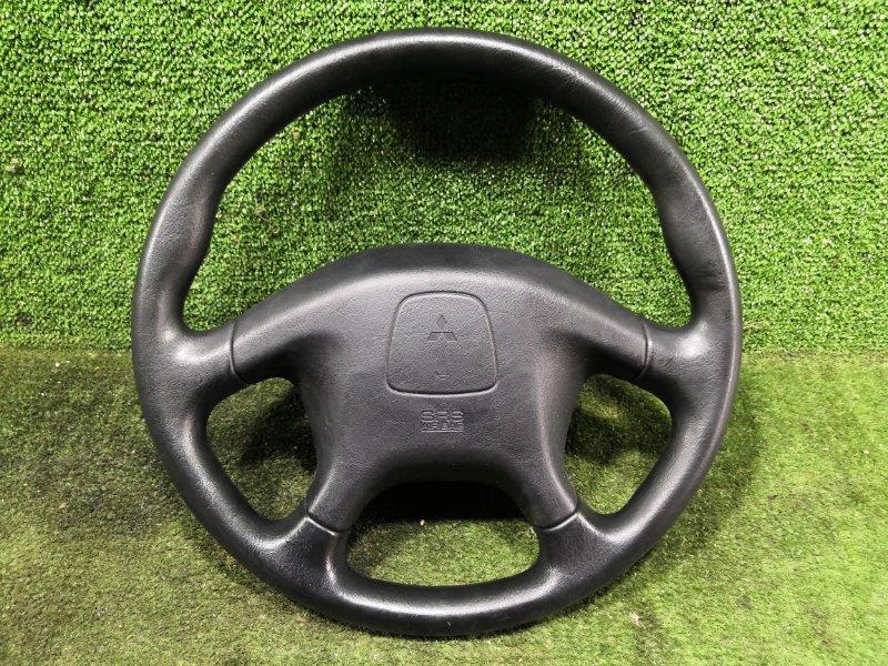 Руль с airbag Mitsubishi Pajero Io H76W 4G93 1999 (б/у)