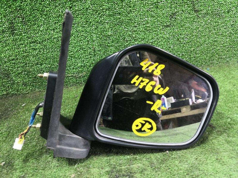 Зеркало Mitsubishi Pajero Io H76W 4G93 1999 переднее правое (б/у)