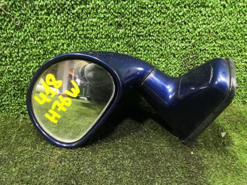 Зеркало на крыло Mitsubishi Pajero Io H76W 4G93 1999 (б/у)