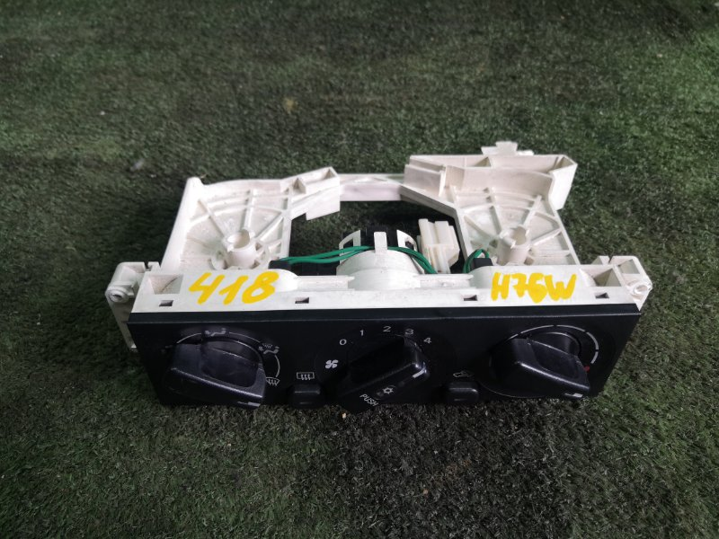 Блок управления климат-контролем Mitsubishi Pajero Io H76W 4G93 1999 (б/у)