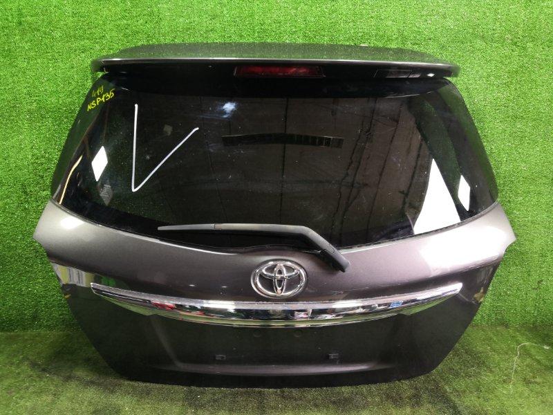 Дверь 5-я Toyota Vitz NSP135 1NRFE 2011 (б/у)