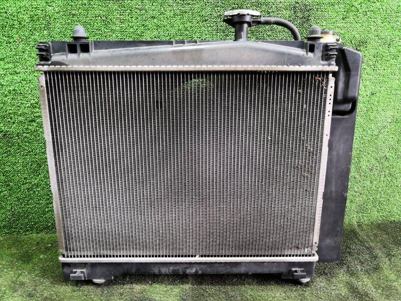 Радиатор основной Toyota Vitz NSP135 1NRFE 2011 (б/у)